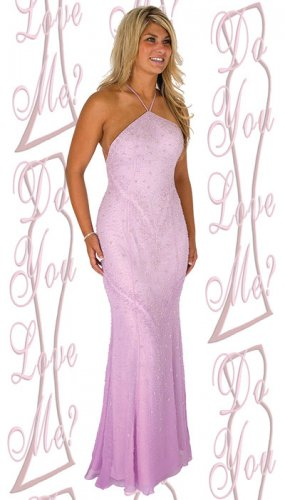Prom Dress  - PLUS Size (DYLM-1586)