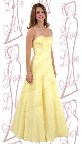 Prom Dress  - PLUS Size (DYLM-1580)