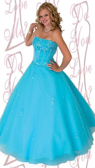 Ball Gown -PLUS Size (DYLM 1790)
