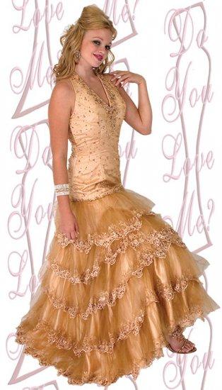 Prom Dress - PLUS Size (DYLM1782)