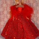 Doll clothe Silkstone Barbie, pretty red dres