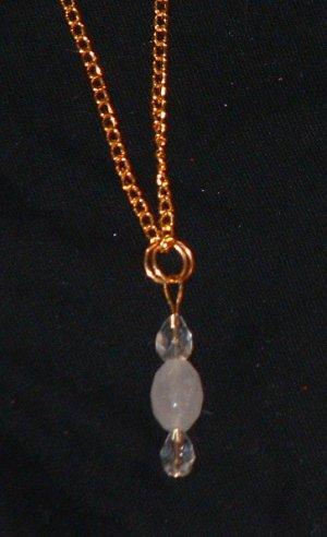 Beautiful Rose Quartz Necklace