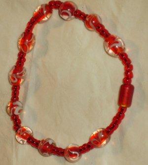 Pretty handcrafted beaded bracelet