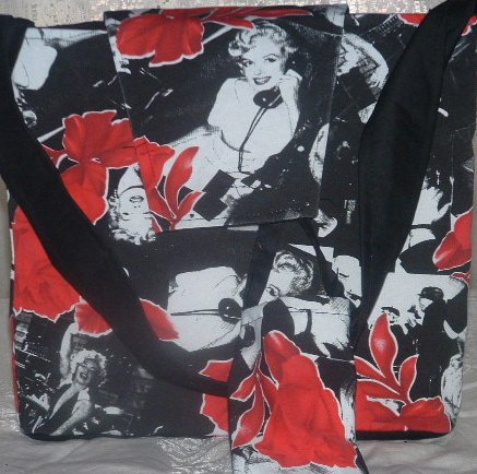 Marilyn Monore Totebag, handbag