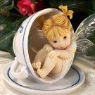 Kitchen Fairy in Teacup