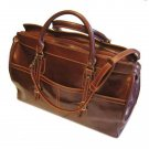 Floto Casiana Tote bag in Vecchio Brown leather SKU 56Brown