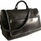 Floto Taormina Duffle bag in Black leather SKU 150Black