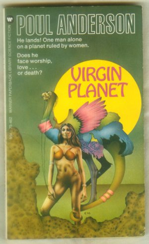 Virgin Planet, Poul Anderson - Science Fiction, Warner Paperback Library 1973