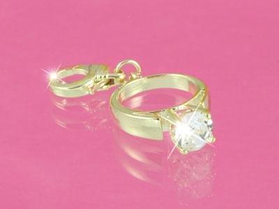 JUICY COUTURE WEDDING RING HANDBAG/BRACELET CHARM