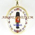CHRISTMAS NUTCRACKER SOLIDER CAMEO PORCELAIN LOCKET NK