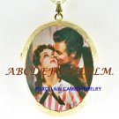 GONE WITH THE WIND PORCELAIN CAMEO LOCKET NECKLACE-26