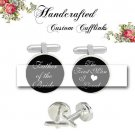 father of the bride groom first men I loved men Cufflinks Custom Groom groomsmen Wedding