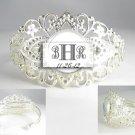 Mother bride groom Wedding 3 initials monogram bridal Bridesmaids Anniversary birthday bracelet