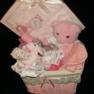 large girl baby basket