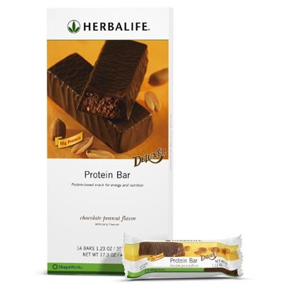 Herbalife Chocolate Peanut Protein Bar Deluxe