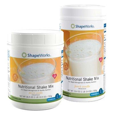 Herbalife Large French Vanilla Formula 1 Nutritional Shake Mix, 750g