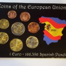 Spanish Designed Euro Coin Set