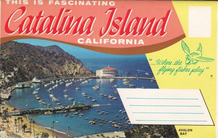 Catalina Island - CA - Fold-out postcards