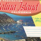 Catalina Island - CA - Fold-out postcards