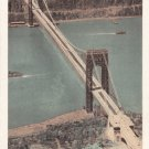George Washington Bridge postcard 1935
