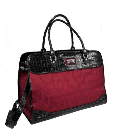 Genuine Leather Weekender Bag- Brighton inspired