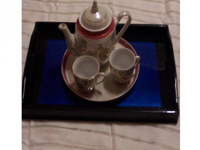 Vintage Look Kyoto Teapot Set of 2 Pottery.