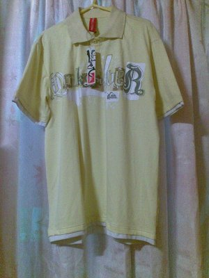 Quick Silver Teen Polo Shirt 32R