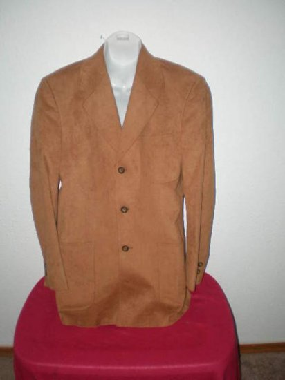 Men's Suede Jacket by Kingsride