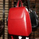 Red Back Pack Purse