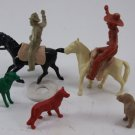 Vintage Cowboys Horses Farm Animals 1950's