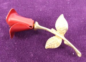 Rose Pin by Avon from the 2000s