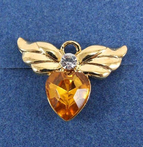 Tiny Angel Birth Stone Pin by Avon from the 2000s November