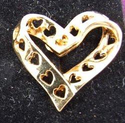 True Hearts Clip Earrings by Avon from the 1990s
