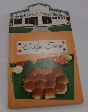 White Castle Bridge Score Book Collectible 1960 s