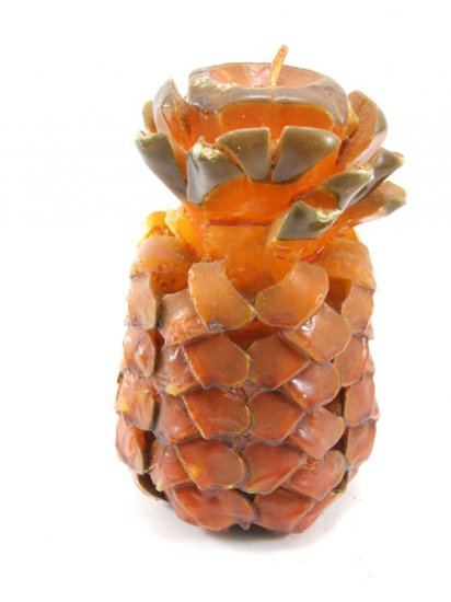 Sculpted Pineapple Candle