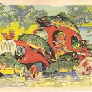 I got the limit cartoon postcard 1937