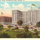 Hotel Windermere East Chicago IL Postcard