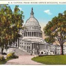 U.S. Capitol from House Office Building Washington D.C. Post