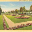 Suken Garden Fair Park Dallas Texas Postcard