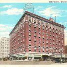 Kemp Hotel Wichita Falls Texas Postcard