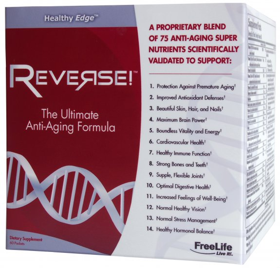 Reverse: The Ultimate Anti-Aging Formula (60 packets)