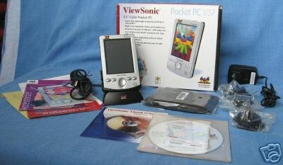 Pocket PC with wireless card and battery charger - brand new