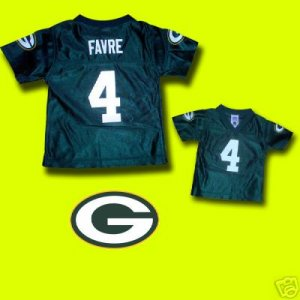 Brett FAVRE Toddler JERSEY Green Bay Packers Favre JERSEY