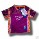 VIRGINIA TECH HOKIES TODDLER FOOTBALL JERSEY 2T 3T or 4T