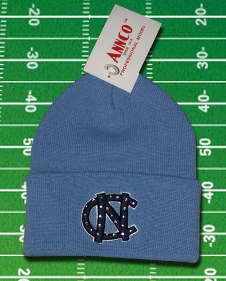 UNC NORTH CAROLINA TAR HEELS Tyler Hansbrough Jersey RARE Knit Beanie Ski Hat
