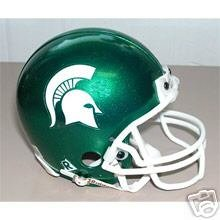 Michigan STATE Spartans Football Micro Helmet mini helmet NEW
