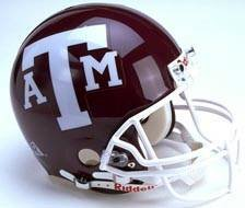 TEXAS A&M AGGIES Football Micro Helmet mini helmet NEW_MCGEE