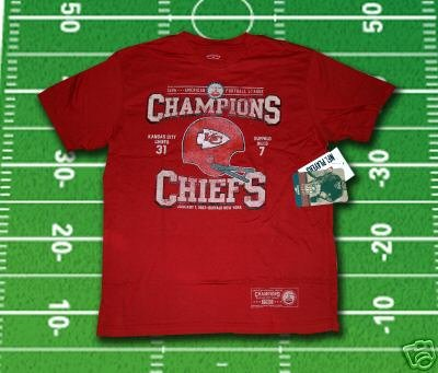 Retro Vintage Kansas City Chiefs Super Bowl Champs Tee  Champions T