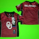 OKLAHOMA University TODDLER Football JERSEY 2T, 3T, or 4T BRADFORD