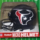 HOUSTON TEXANS RIDDELL MICRO HELMET MINI HELMET ANDRE JOHNSON JERSEY SHUAB JERSEY